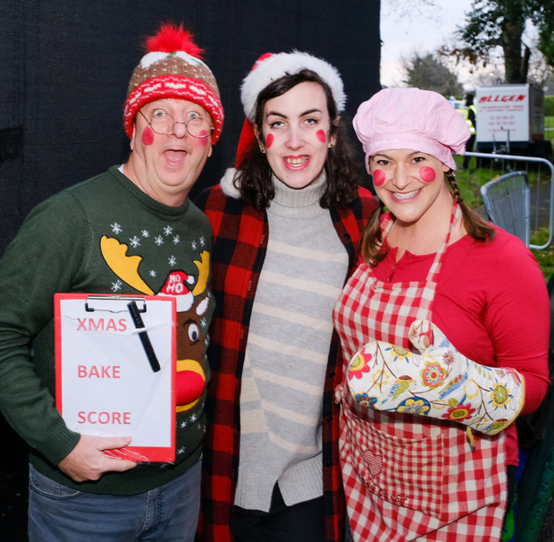 Tom Fanthom, Violet O'Brien and Nicole McLaughlin at the event