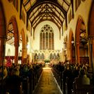 Christ Church Bray as the musicians play 'Classics by Candlelight'