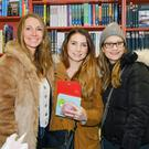 Rhoda Mulhall, Lianne Reilly and Hannah Evans at Village Bookshop