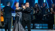 Sinead O'Carroll and her dance partner Ryan McShane performing a tango on last weekend's Dancing With the Stars.