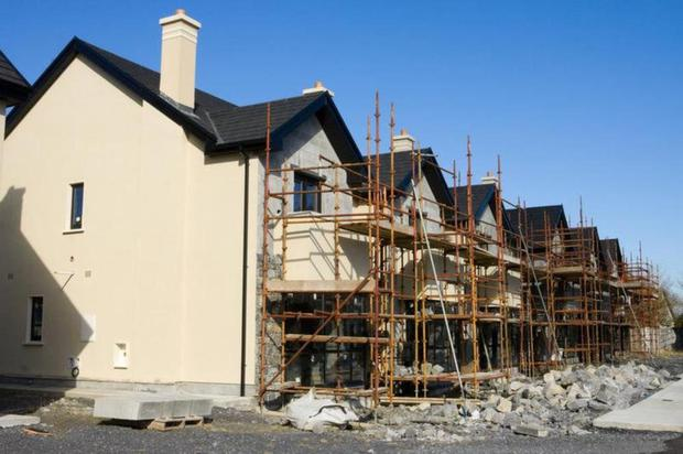 704 homes were under construction in the county in December