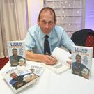 "Author Ciaran Byrne at his book launch ""A Year in Wicklow with Micko"" in the Arklow Bay Hotel"