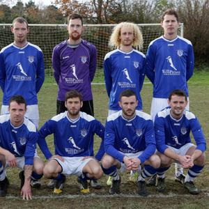 The Ashford Rovers team who defeated Arklow United in the Wicklow Cup in Ballinalea Park last Sunday. Photo: Barbara Flynn