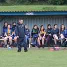 Wicklow Manager Brendan Phelan at the Louth v Wicklow Leinster Junior Camogie Semi-Final in Dunleer.