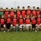 The St Kevin's CC team who defeated Scoil Chonglais in the Wicklow Schools Senior 'A' football semi-final in Baltinglass last week.