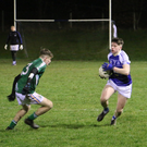 Action from the Éire g v Avondale clash last weekend.