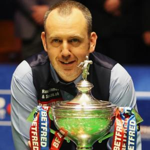 Mark Williams, who won the World Snooker Championship at the ripe old age of 43.