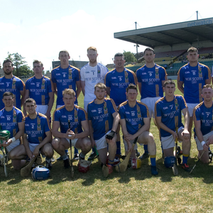 The Wicklow Senior hurling team ahead of their Christy Ring Cup semi-final with London