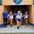 Wicklow captain Sarah Hogan leads her troops out to battle