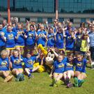 The Wicklow Wasps who competed in the hockey showdown at Gormanstown Park