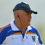 9 June 2018; Wicklow manager John Evans during the GAA Football All-Ireland Senior Championship Round 1 match between Wicklow and Cavan at Joule Park in Aughrim, Wicklow. Photo by Harry Murphy/Sportsfile