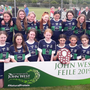 The Bray Emmets camogie team who shared the Division 5 Shield crown with Grenagh of Cork