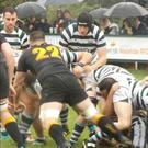 Greystones in action against Malahide in their AIL Division 2B opener last weekend