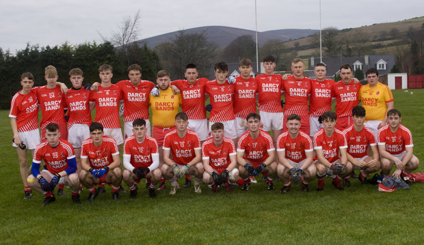 The Kilaveney football team who defeated Shamrocks in the under-20'A' semi-final