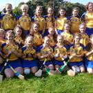 The Wicklow Under-14 camogie squad
