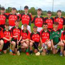 West Wicklow Schools, winners of the Wicklow Post Primary Schools juvenile hurling B final.