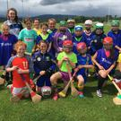 Participants at the Wicklow camogie summer camp in Ballinakill.