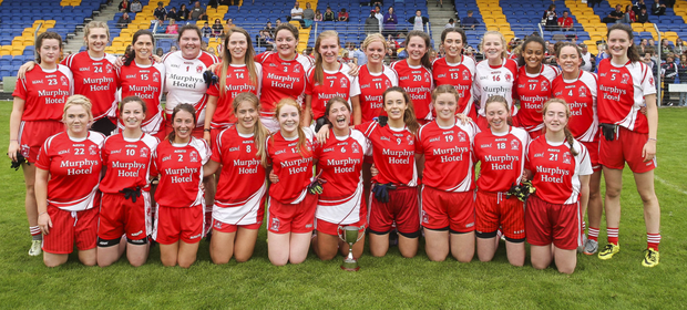 Tinahely, the Intermediate football championship winners