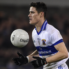 Diarmuid Connolly of St Vincent's strides forward during the county final against Ballymun Kickhams.