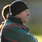 Rathnew manager Harry Murphy during the AIB Leinster GAA Football Senior Club Championship quarter-final match between Rathnew and St Vincent's at Joule Park in Aughrim