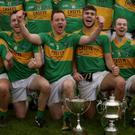 Laragh celebrate their Swan Cup success