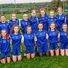 Colaiste Bhride Carnew who defeated Dominican College Wicklow to reach the Senior A football final