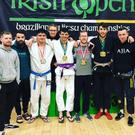 Members of the Arnkell Jiu Jitsu Academy at the Cork Open.