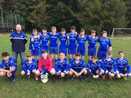 Roundwood, who edged out Coolboy Rangers in their U-15 Group 1 game.