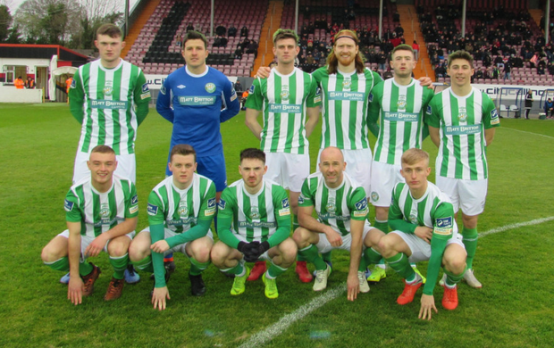 Bray Wanderers, who lost out 2-0 to Longford Town at City Calling Stadium