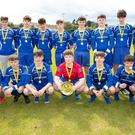 Roundwood AFC, winners of the Arklow Coral Leisure Centre Under-16 Plate