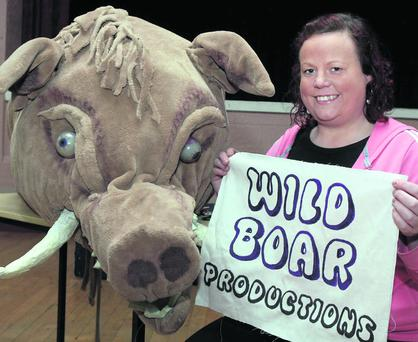 Kanturk native, Aileen Lehane, founder of Wild Boar Productions. Photo: Patrick Casey