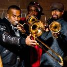 The fabulous Hypnotic Brass Ensemble will play the Crane Lane tonight (Thursday)