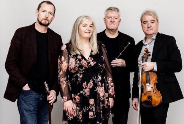 John Doyle, Niamh Parsons, Liam Doyle and Ciaran Tourish will play together at the Triskel Christchurch on January 16
