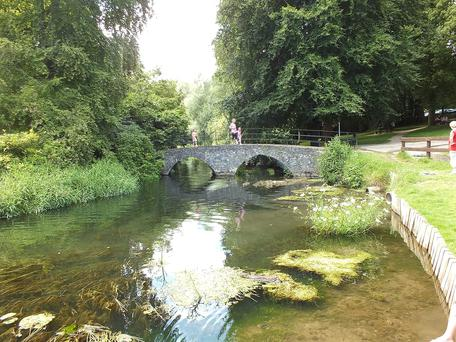 Doneraile Park - a haven of peace and tranquility.