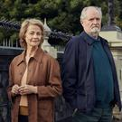 Charlotte Rampling as Veronica Ford and Jim Broadbent as Anthony 'Tony' Webster in The Sense of an Ending