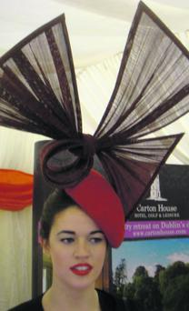 'Who Wants To Be A Milliner' winner Aisling Ahern.