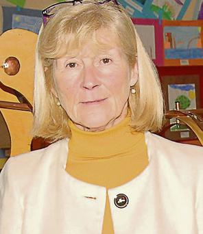 Mayor of Fermoy Olive Corcoran.