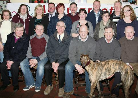 Newmarket Sports and Leisure Committee will host a 'Night at the Dogs' in Kingdom Greyhound Stadium, Tralee, on Saturday, March 29th as a major fundraiser for the new Astroturf Pitch which is already under construction. (Photo by Sheila Fitzgerald)