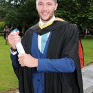 Leo O' Regan, Mallow, Cork, who was conferred with a Bachelor of Engineering in Civil Engineering.