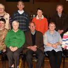 The current committee of the Newtownshandrum P.T.A..A. Included are front: Jean Dunworth, Kay Cotter, Jim Guiney, Ann Farrissey and Florus Galvin. Standing: Eileen Moynihan, Pat Galvin, Lena Morrissey and Pat Dunworth