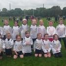 Mourneabbey girls who took part in the U8 and U10 blitz on Saturday last in Killavullen