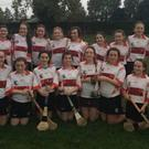 The Banteer camogie team which captured the Avondhu U14 title
