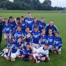 The victorious Croke Rovers Under 14 Hurling Team 2015 after beating Doneraile in the championship final