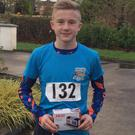 Eoin Healy from Bweeng Trail Blazers, winner of the Glantane Junior race and 3rd in Duhallow Juniors 5k
