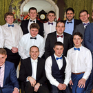 Members of Charleville Rugby team pictured at the club's New Year's Eve dinner dance