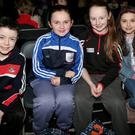 Rahan NS pupils Eoin Walsh, Hannah Creedon, Sophie Jane and Grace Conway took part in the Ballygown NS quiz, which was held at the Mallow GAA Sports Complex. Photo by Sheila Fitzgerald