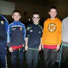 Ballygown pupils James O' Keeffe, Kieran Roche, Jack Martin, Colm Nagle, and Michael Cagney who took part in the Ballygown NS quiz at the Mallow GAA Sports Complex. Photo by Sheila Fitzgerald