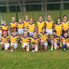 Kilshannig Ladies Under 10s before the first game of the year, against Araglendesmondsbui in Kilshannig GAA. Well done to both teams