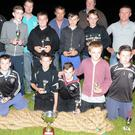 The Donoughmore National School tug-o-war team winners at Donoughmore Carnival
