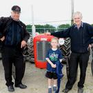 Gerard Murphy, Rolckchapel, David and Aidan Fitzgerald, Newmarket, enjoying the Cullen Vintage Day